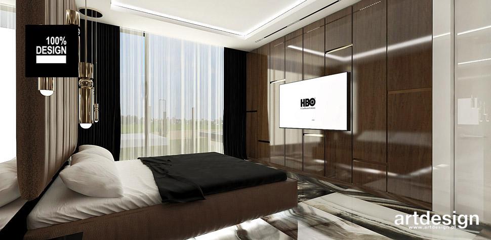 wnętrza sypialni projekty