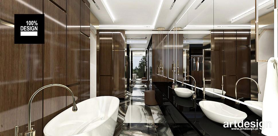 luksusowa łazienka aranżacje