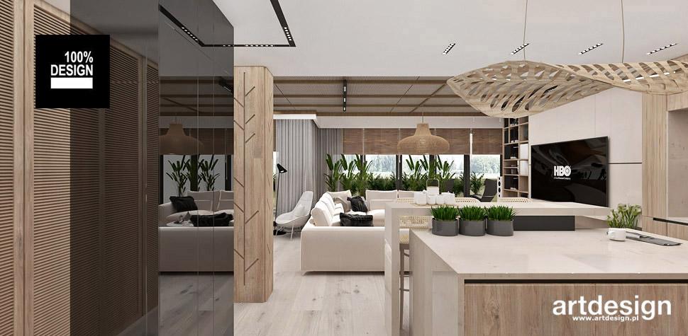 nowoczesne mieszkanie projekt