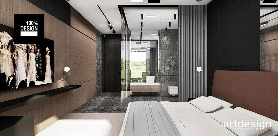 aranżacja sypialni nowoczesna