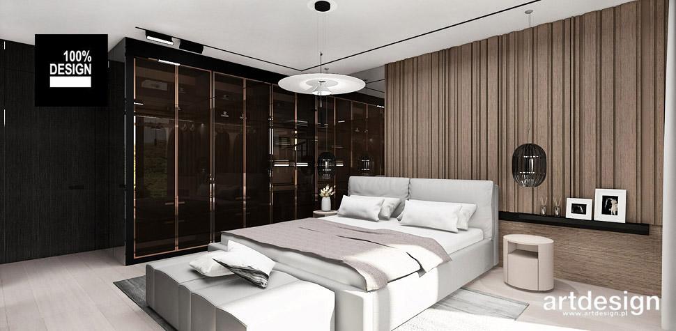sypialnia luksusowa aranżacja