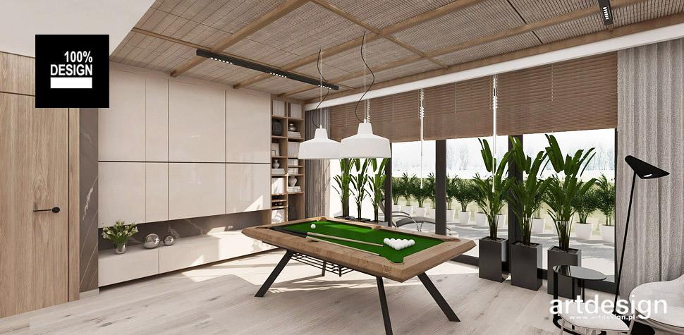 mieszkanie stół bilardowy