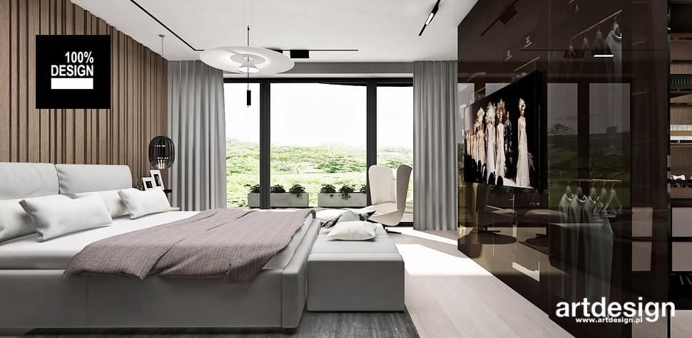 nowoczesna sypialnia trendy wnętrza