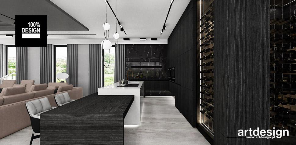 projektant wnętrz dom kuchnia