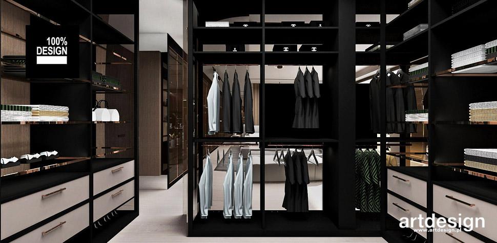 wymarzona garderoba wnętrze