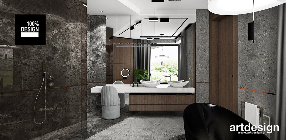 bathroom design projekt lazienki