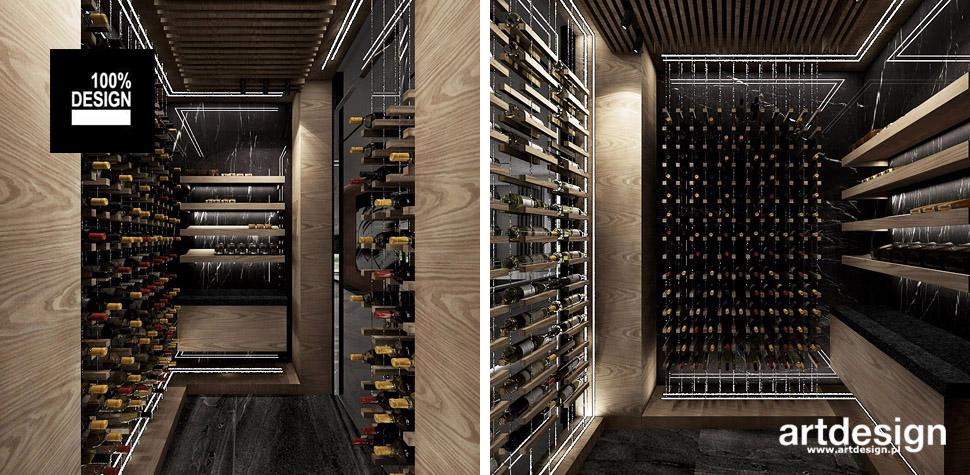 aranżacja winiarni wnętrze