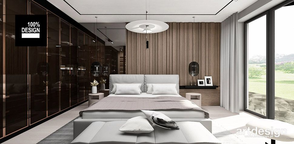 projekt sypialni inspiracje wnętrza