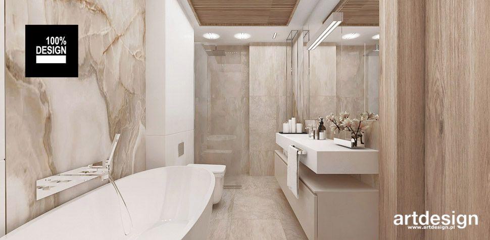 aranżacja przytulna łazienka wnętrza