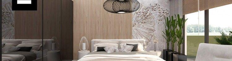 przytulna sypialnia projekt wnętrz