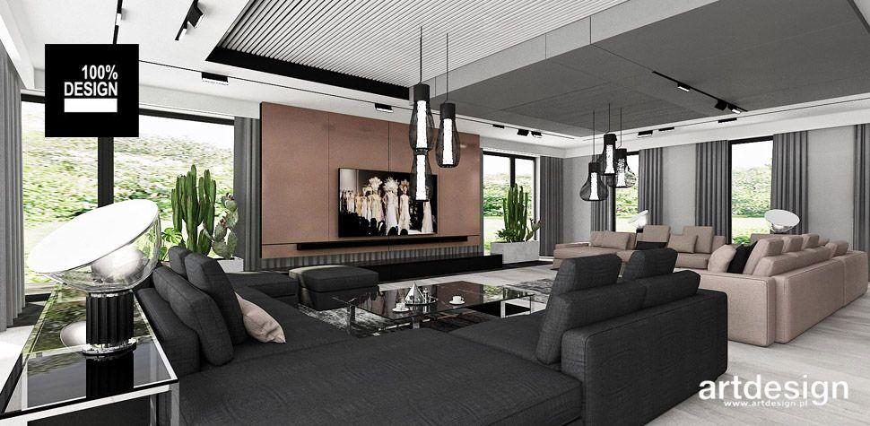 luksusowe wnętrze styl nowoczesny