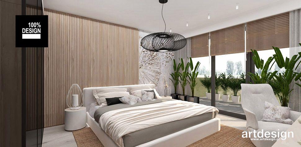 sypialnia wnętrze projekty