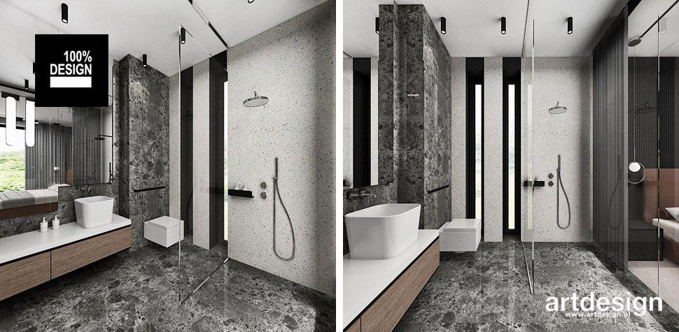 projektowanie łazienki inspiracje design
