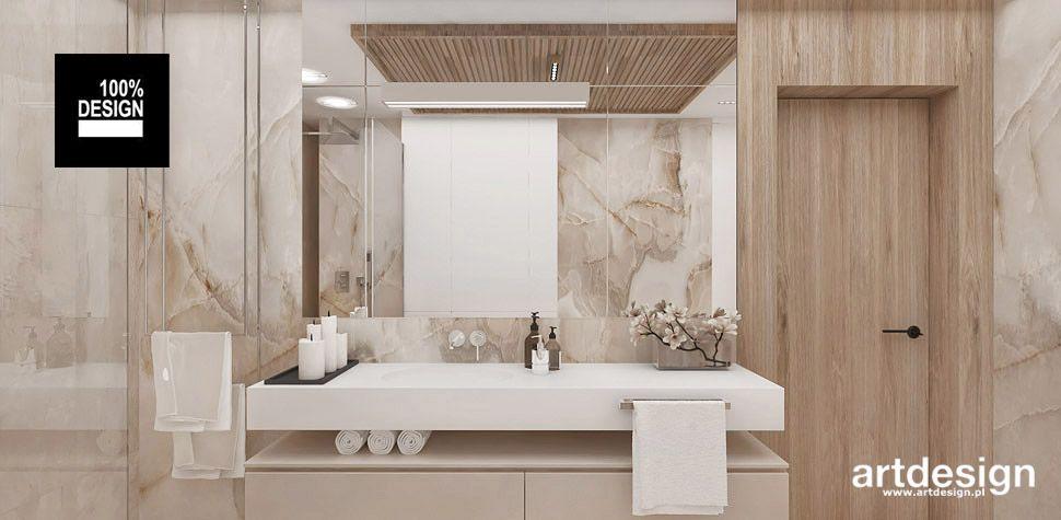 nowoczesna łazienka projekty